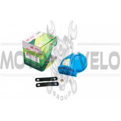 Сигнал (улитка) электрический двухтональный (синий) SUV