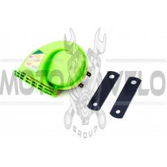 Сигнал (улитка) электрический двухтональный (зеленый) SUV