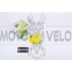 Сигнал (улитка) электрический двухтональный (желтый) SUV