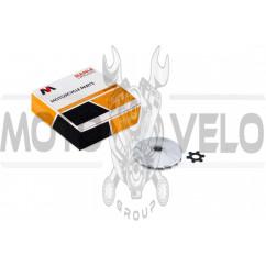 Щека вариатора неподвижная 2T Stels 50, Yamaha JOG 90 (алюминий, d-16, +ступица) MANLE