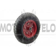 Колесо 4,00 -6 TT (камерное, под ось d-16мм ) MRHD