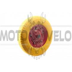 Колесо 4,00 -8 TL (бескамерное, под ось d-16мм )