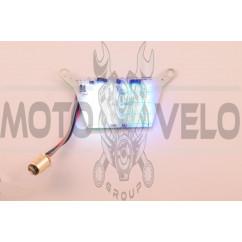 Плата задней фары диодная (синий и белый стробоскоп, 24 кристалла)