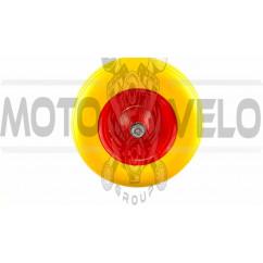 Колесо   4,00 -6   TL   (бескамерное, ось D-16мм )    (силикон, желтое)   ELIT