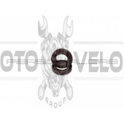 Сальники коленвала (пара) б/п   для St M 180 (коричневые)   EVO