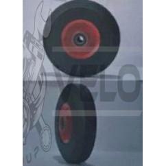 Колесо   3,50 -4   TL   (прессрезина, под ось d-20мм )   MRHD