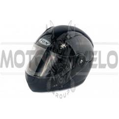Шлем трансформер (mod:FX-115) (size:XL, черный) FGN