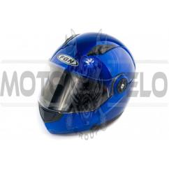 Шлем трансформер (mod:FX-115) (size:L, синий) FGN