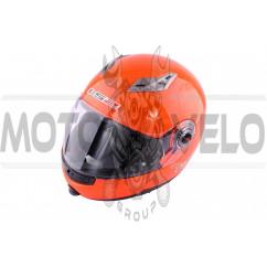 Шлем трансформер (size:XL, оранжевый + солнцезащитные очки) LS-2