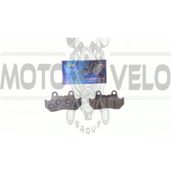 Колодки тормозные (диск)   Zongshen CBT125/150   KOMATCU   (mod.A)