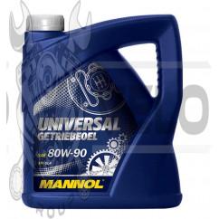 Масло   трансмиссионное, 4л   (80W-90, Universal Getriebeoel API GL 4)   MANNOL, шт