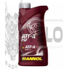 Масло   трансмиссионное, 0,5л   (минеральное, ATF-A PSF)   MANNOL, шт