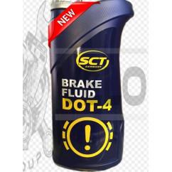 Тормозная жидкость   DOT 4   (1л)   SCT, шт
