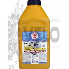 Тормозная жидкость   DOT 3   (1л)   (НЕВА-ГОСТ)   ВАМП   (#GRS)