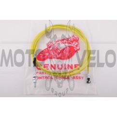 Трос заднего тормоза Honda DIO (1800mm, уп.1шт, желтый)