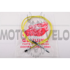 Трос переднего тормоза Honda ТACT (1200mm, уп.1шт, желтый)