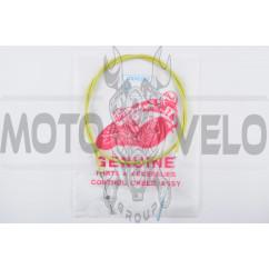 Трос переднего тормоза ЯВА (1300mm, уп.1шт, желтый)