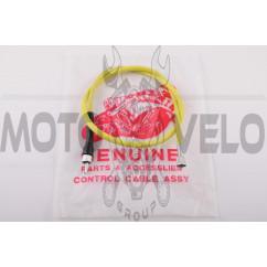 Трос спидометра 4T GY6 50 (квадрат-вилка) (930mm, уп.1шт, желтый)