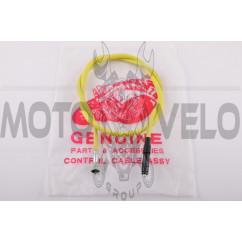 Трос спидометра Honda TACT AF24 (барабан) (1090mm, уп.1шт, желтый)