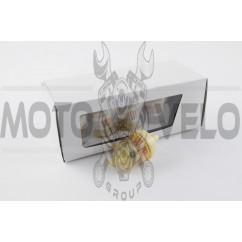 Фильтр топливный цилиндрический с бумажным элементом (№001) (+ магнит)