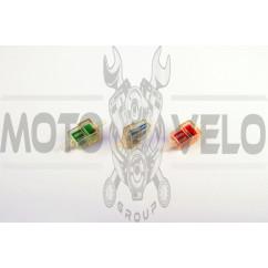 Фильтр топливный прямоугольный с сетчатым элементам (№ 007) (+магнит)
