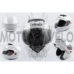 Шлем трансформер (mod:J) (size:L, белый) FGN