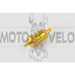 Фильтр топливный цилиндрический (желтый) RIDE IT