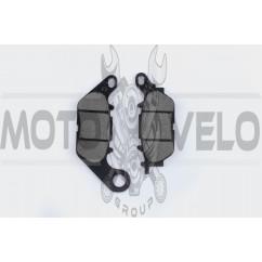 Колодки тормозные (диск) Yamaha YBR125 KOMATCU