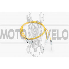 Трос газа Yamaha GEAR 4KN (1700mm, уп.1шт, желтый)