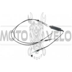 Трос газа Yamaha JOG 90 (раздвоенный трос) (1900mm, уп.1шт) KOMATCU