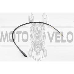 Трос спидометра Honda DIO ZX AF35 (диск) (880mm, с защелкой, уп.1шт) KOMATCU