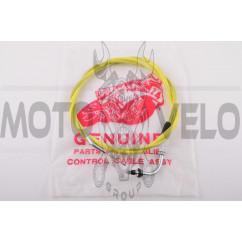 Трос газа Suzuki AD50 (1750mm, уп.1шт, желтый)