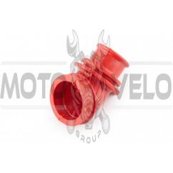 Патрубок воздушного фильтра Suzuki LETS (красный) KOMATCU