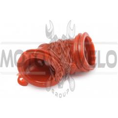 Патрубок воздушного фильтра Yamaha JOG (красный) KOMATCU