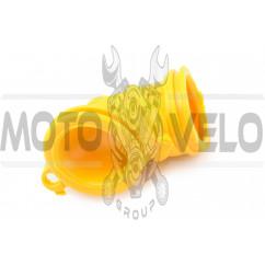 Патрубок воздушного фильтра Yamaha JOG (желтый) KOMATCU