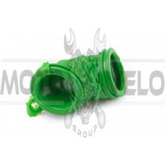 Патрубок воздушного фильтра Yamaha JOG (зеленый) KOMATCU