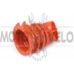 Патрубок воздушного фильтра Honda DIO AF34/35 (красный) KOMATСU