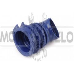 Патрубок воздушного фильтра Honda DIO AF34/35 (синий) KOMATСU