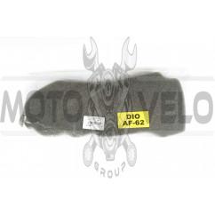 Элемент воздушного фильтра Honda DIO AF62/TODAY AF61 (поролон сухой) (черный) AS