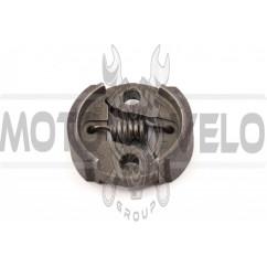 Колодки сцепления мотокосы (короткая пружина) 1E32F