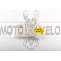 Элемент воздушного фильтра Honda DIO AF27 (поролон сухой) (белый) AS