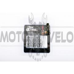Ниппель колеса (стайлинговый, прямой) (черный) (#0001) MAX GUARD