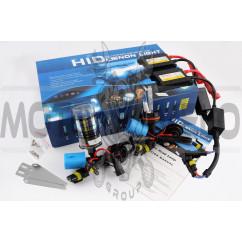 Ксенон (авто) HB5 (9007) DC 6000K 35W (+галоген) slim (арт:110)