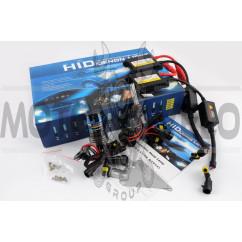 Ксенон (авто) H10 DC 6000K 35W slim (арт:22)