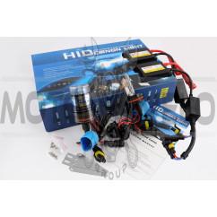 Ксенон (авто) HB1 (9004) DC 6000K 35W (+галоген) slim (арт:86)