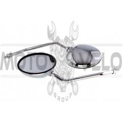 Зеркала мото (круглые) (хром, 10mm) МТ, ДНЕПР, УРАЛ, К-750 JING