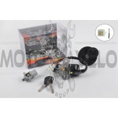 Замок зажигания (комплект) Yamaha JOG 3YK NEXT ZONE
