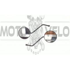 Зеркала   Alpha   (круглые, черные, d-10mm)   (TM)   EVO