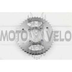 Звезда трансмиссии (задняя) Yamaha YBR125 428-45Т (d 64mm) KOMATCU