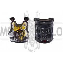 Защита жилет (size:L, черно-желтый, mod:AM06) SCOYCO